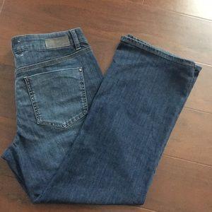Women flare jeans. Size 12p DKNY